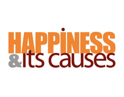 Happiness has it's causes logo